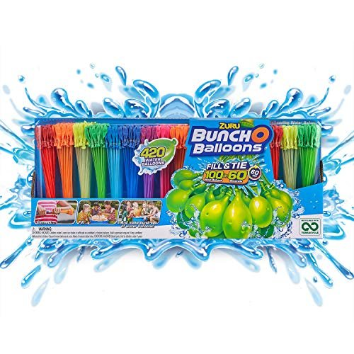 Rapid-fill water balloons