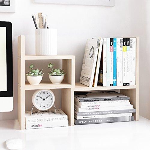 Desktop organizer and display shelf