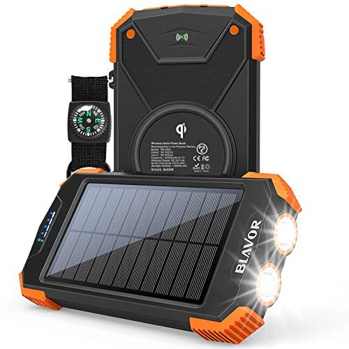 Solar portable phone charger