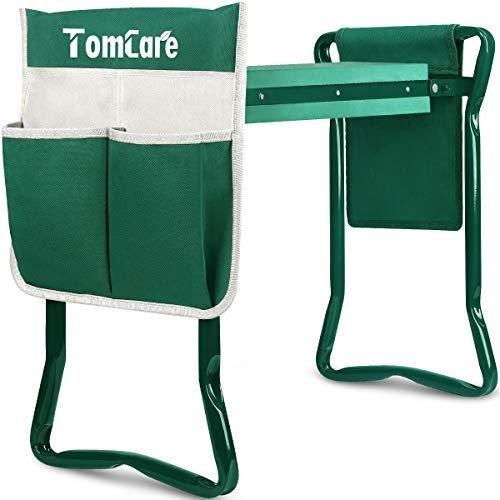 Multi-functional kneeler, stool and tool bag