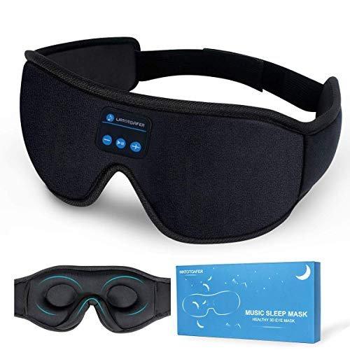 Bluetooth sleep mask headphones