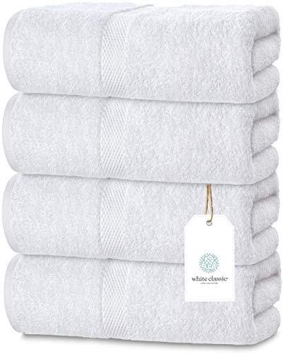 Large Egyptian cotton plush towels