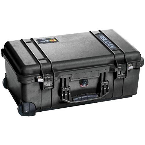 Pelican 015100-0050-110 Protector Carry-On Case Black w/TrekPak Insert