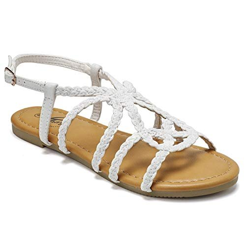 Hand-woven stylish strap sandals