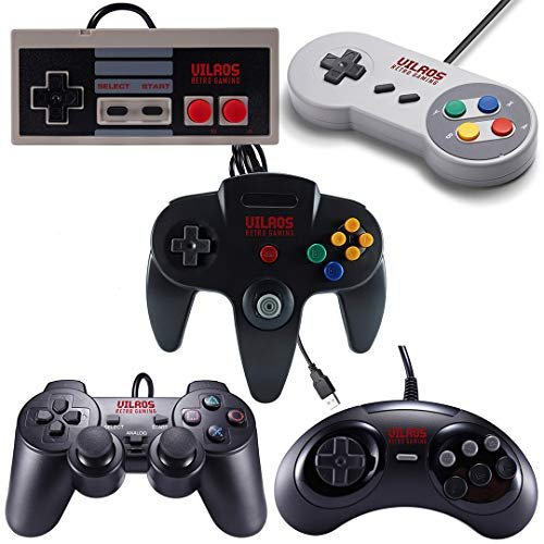 Play any kind of old-school game with these USB style gamepads