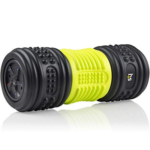 Roll away aches and pains with a vibrating foam roller