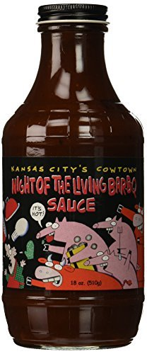 Cowtown Night Of The Living spicy BBQ sauce