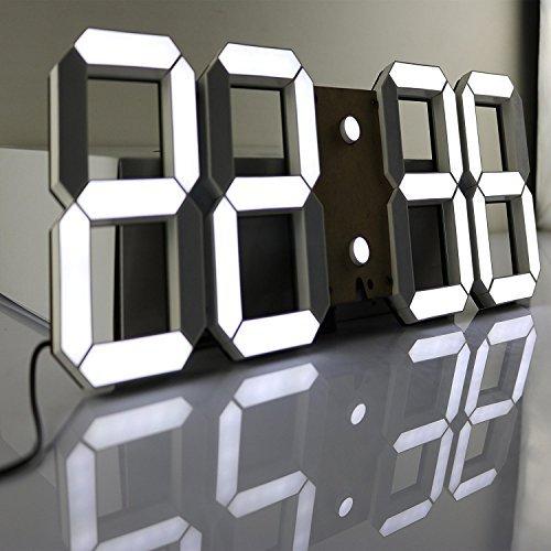 Massive LED digital wall clock