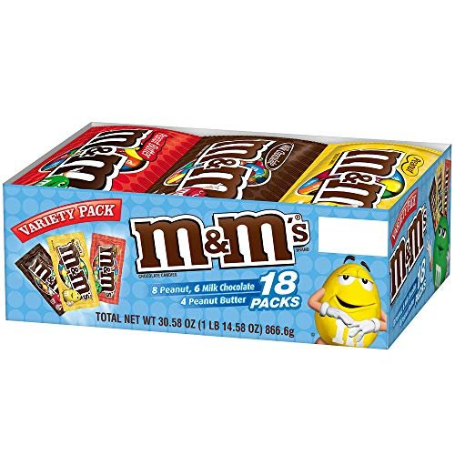 M&M's variety pack