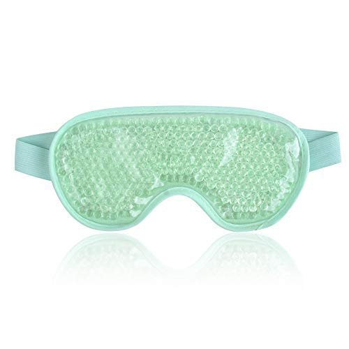 Cooling mask for puffy eyes