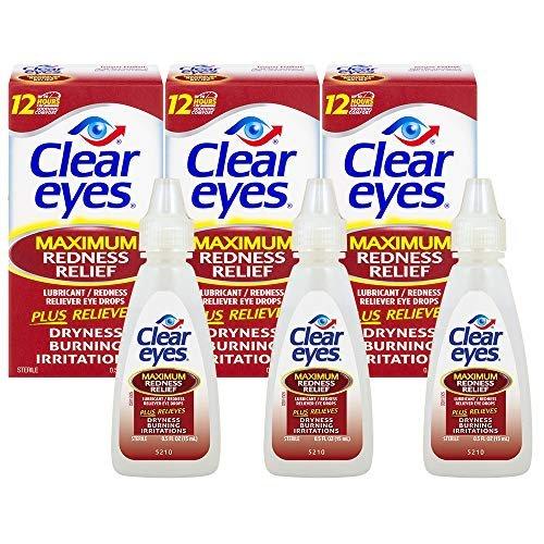 Clear Eyes redness eye drops