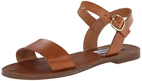 Women's tan leather sandals