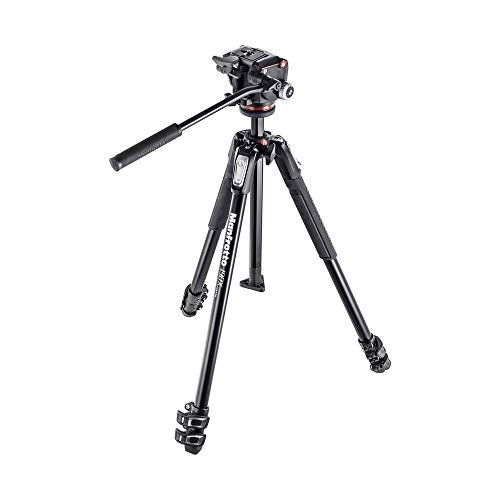 Manfrotto three-section tripod kit