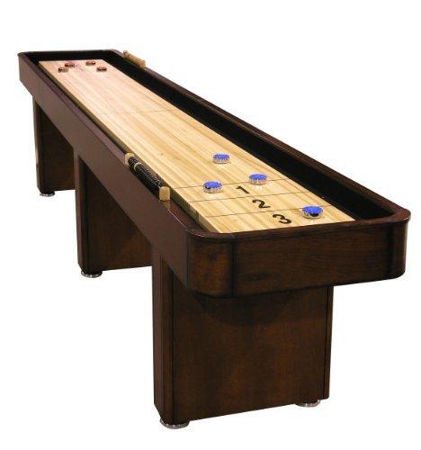 Regulation-sized shuffleboard table