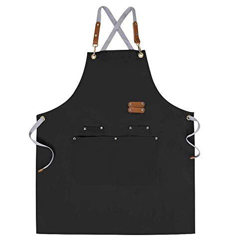 Chef Apron with adjustable straps and large pockets