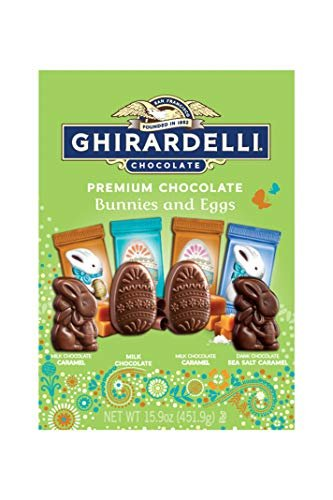 Ghirardelli Premium Chocolate Bunnies & Eggs (15.9 oz pack)