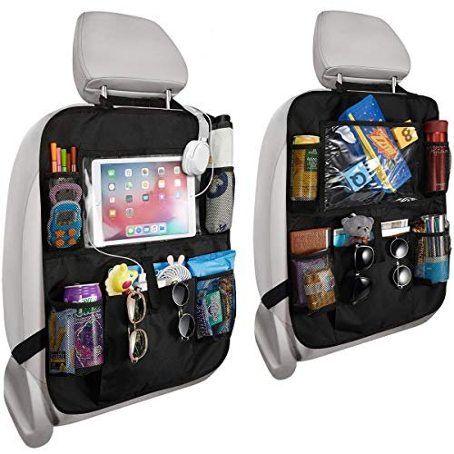 Durable backseat organizer
