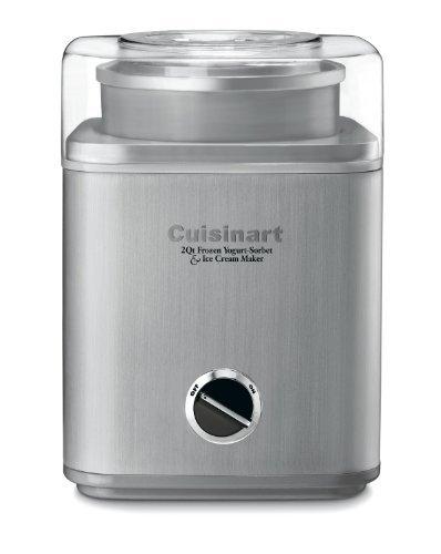 Cuisinart ICE-30BC Pure Indulgence 2-Quart Automatic Frozen Yogurt, Sorbet, and Ice Cream Maker - Silver (ICE-30BCP1)
