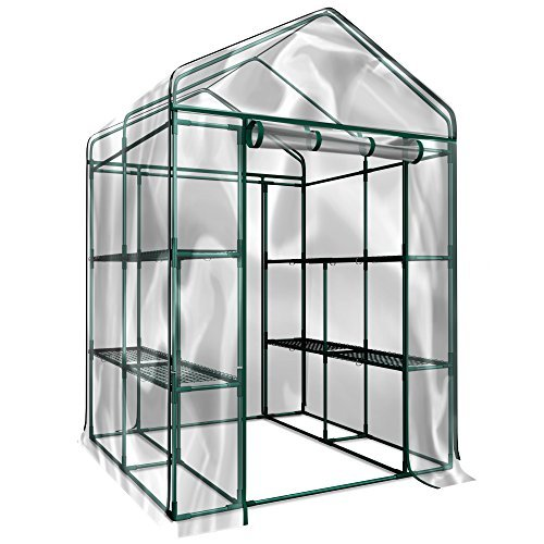 Grow year round with a walk-in greenhouse