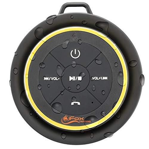 iFox Bluetooth waterproof speaker to listen in the shower