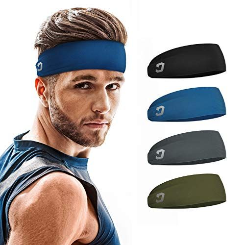 Get 23% off a 4-pack of sports headbands