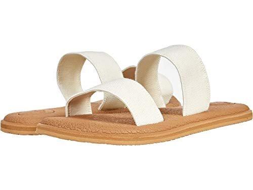 Sanuk white sandals