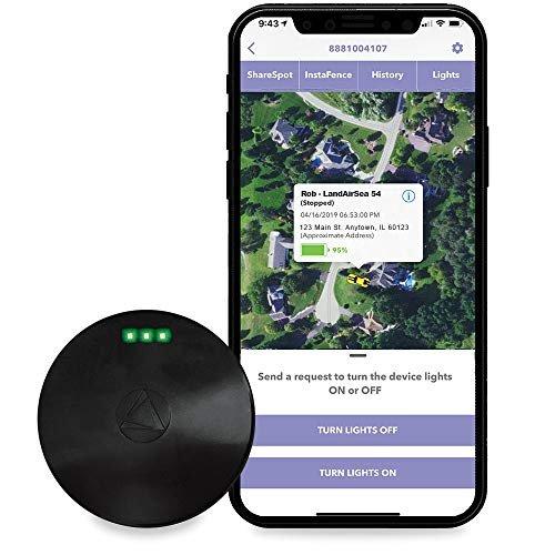 Compact waterproof GPS tracker