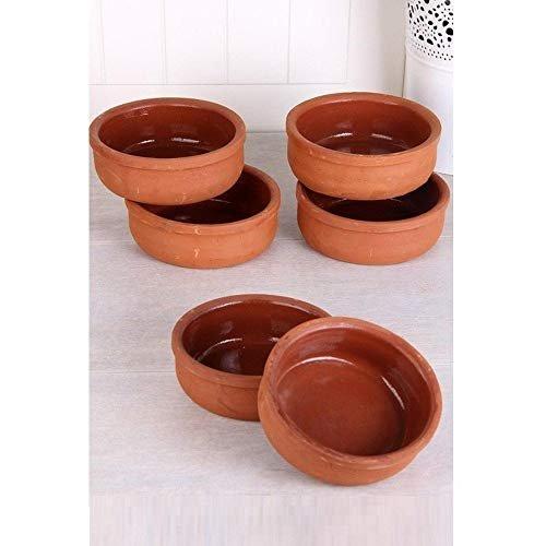 6 Hitit Terra Turkish Clay Bowls