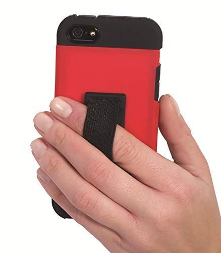 Phone loop finger holder