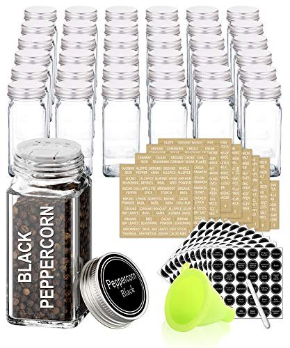 $32 off 36 glass spice jars with labels