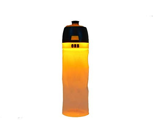 Light-up bottle for side visibility