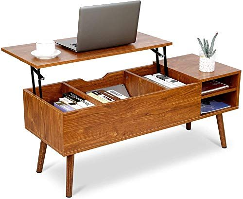 Mid-century modern lift top coffee table