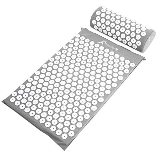 Save 20% on an acupressure mat and pillow set to reduce muscle stiffness