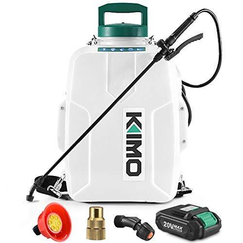 Battery-powered garden sprayer