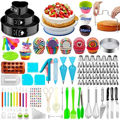 17% off a cake decorating kit