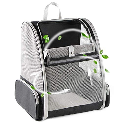 Transport your pets in this backpack