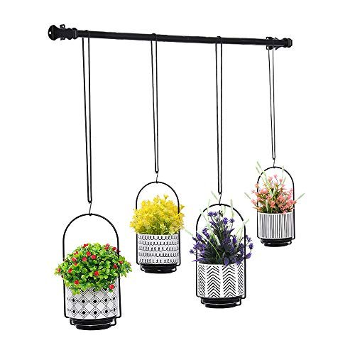 Tiered hanging planters