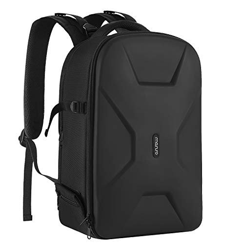 Waterproof hardshell camera backpack to protect your gear while traveling