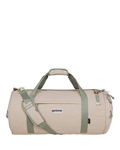 Compact water-resistant duffel bag
