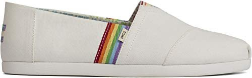 TOMS has colorful slip-ons & donates to grassroots organizations