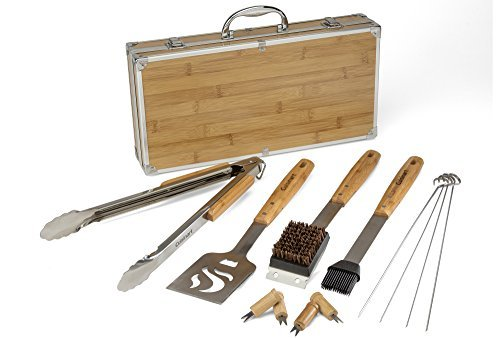 Cuisinart bamboo grilling tool set