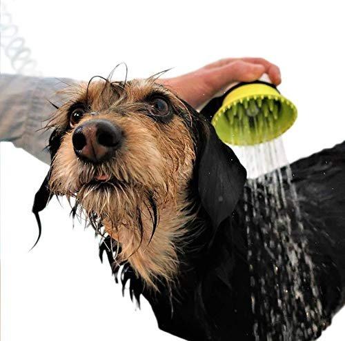 Handheld pet washer