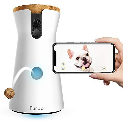 Save $51 on a treat tossing dog camera compatible with Alexa