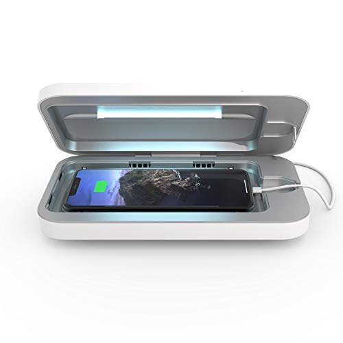 UV cell phone sanitizer & dual universal charger