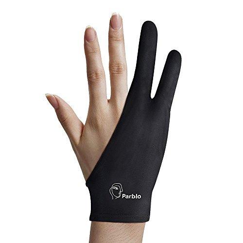 Two-finger gloves for artists