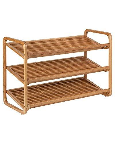 $24 off a bamboo 3-tier shoe shelf