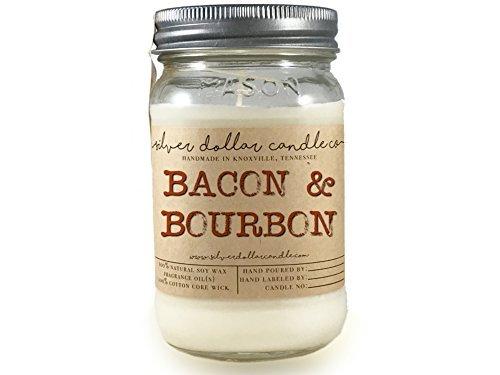 Bacon & bourbon candle