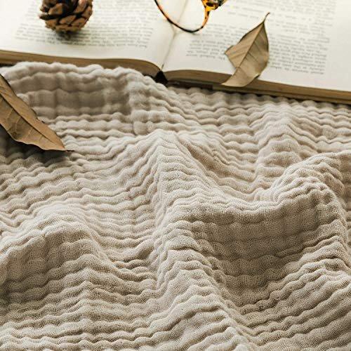 Muslin throw blanket