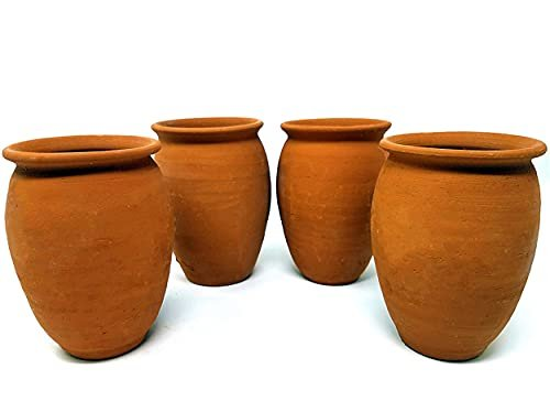 Natural clay cups straight from Mexico
