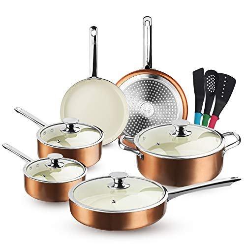 Save $58 on a 13-piece cookware set